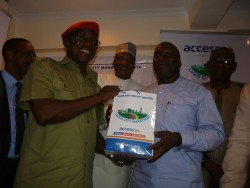 Though the festive period is over, Lagos State Sports Boss Deji Tinubu gives the Minister a Lagos treat